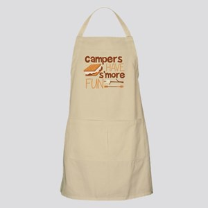 Campers Have S'more Fun Light Apron