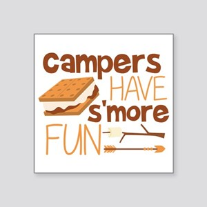Campers Have S'more Fun Sticker