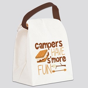 Campers Have S'more Fun Canvas Lunch Bag