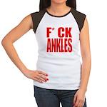 EFF ANKLES Women's Cap Sleeve T-Shirt