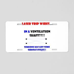 Laser Trip Wires?? 02 Aluminum License Plate