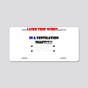 Laser Trip Wires?? 01 Aluminum License Plate