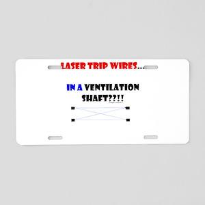 Laser Trip Wires?? 01 Aluminum License Plate