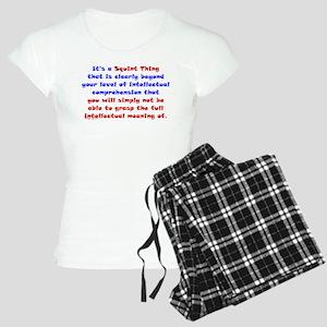 Intellectual Comprehension Women's Light Pajamas