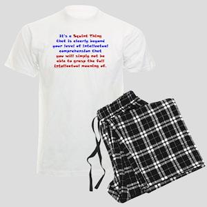Intellectual Comprehension Men's Light Pajamas