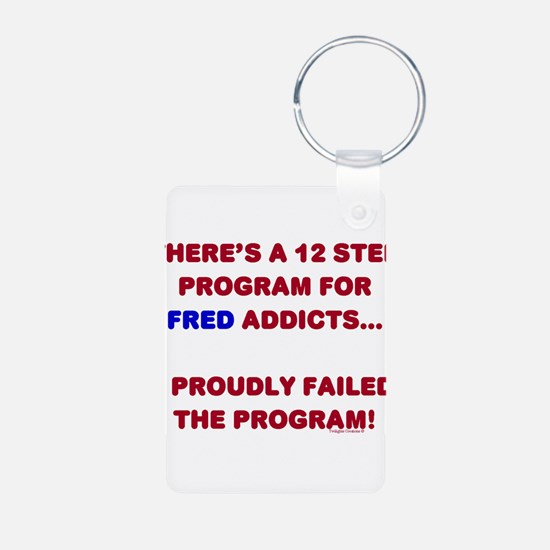 12 Step Fred Program Keychains