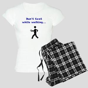 Don't Text While Walking Women's Light Pajamas