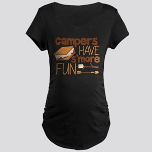 Campers Have S'more Fun Maternity T-Shirt