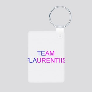 Team Flaurentiis Aluminum Photo Keychain