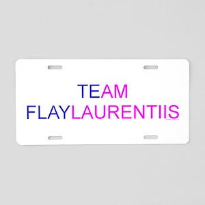 Team Flaylaurentiis Aluminum License Plate