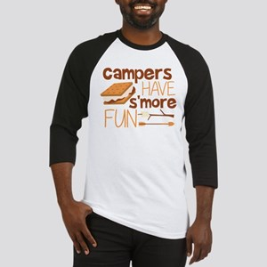 Campers Have S'more Fun Baseball Jersey