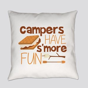 Campers Have S'more Fun Everyday Pillow