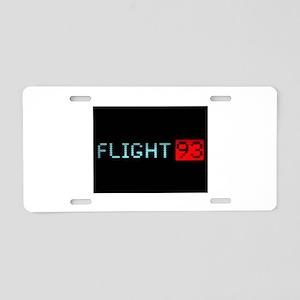 Remembering Flight 93 Aluminum License Plate