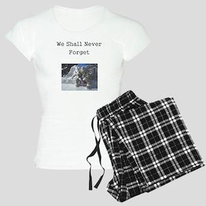 We Shall Never Forget Women's Light Pajamas