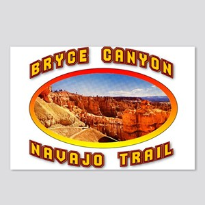 Bryce Canyon Navajo Trail Postcards (Package of 8)