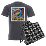 Rehoboth RoundUp 2020 SMAL Men's Charcoal Pajamas