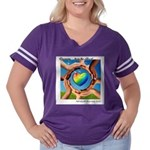 Rehoboth RoundU Women's Plus Size Football T-Shirt