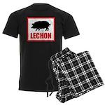 Lechon Men's Dark Pajamas