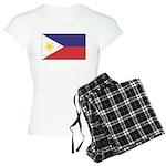 Philippine Flag Women's Light Pajamas