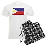 Philippine Flag Men's Light Pajamas