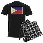 Philippine Flag Men's Dark Pajamas