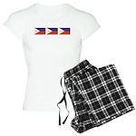 Philippine Flags Women's Light Pajamas