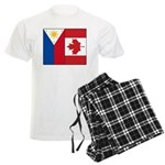 PI Flag & Canada Flag Men's Light Pajamas