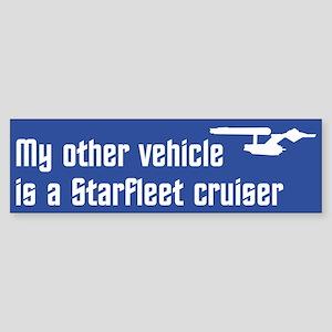 My Other Vehicle (blue) Sticker (Bumper)