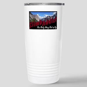 Yosemite Backdrop Stainless Steel Travel Mug