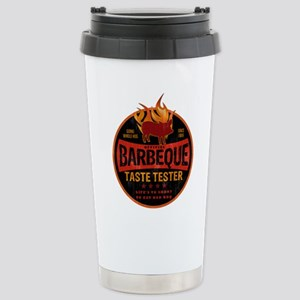 BBQ TASTE TESTER Stainless Steel Travel Mug