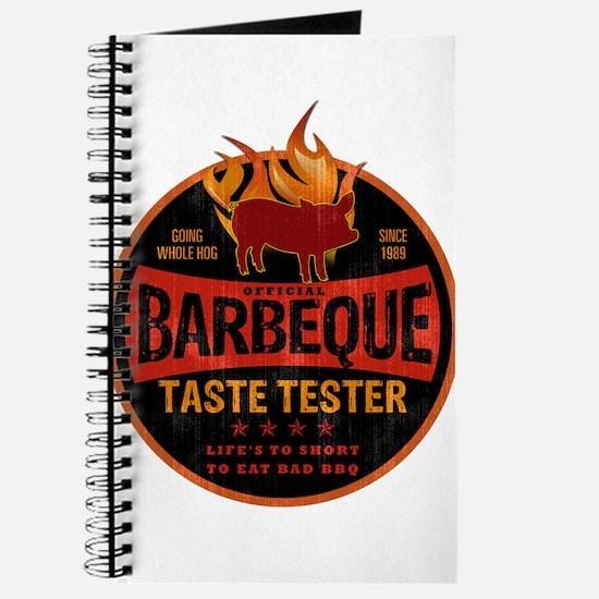 BBQ TASTE TESTER Journal