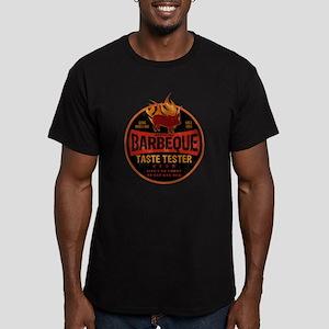 BBQ TASTE TESTER Men's Fitted T-Shirt (dark)