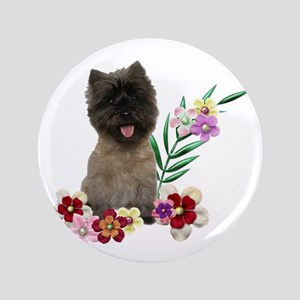 "Cairn Terrier 3.5"" Button"