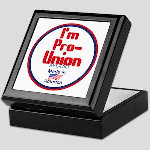 Pro Union Keepsake Box