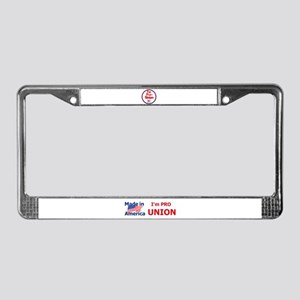 Pro Union License Plate Frame