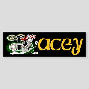 Lacey Celtic Dragon Bumper Sticker