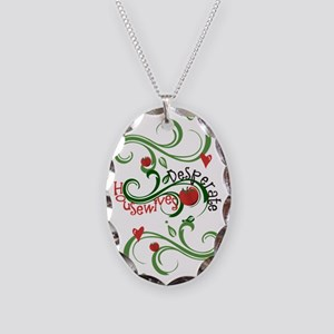 Desperate Housewives Necklace Oval Charm