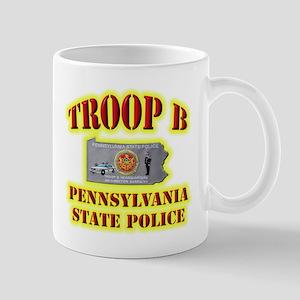 PA State Police Troop B Mug