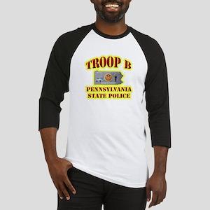 PA State Police Troop B Baseball Jersey