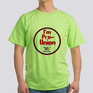 Pro Union Green T-Shirt