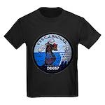 USS CHARLES J. BADGER Kids Dark T-Shirt