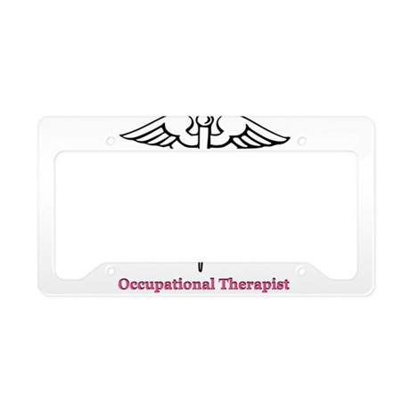 Occupational Therapist License Plate Holder