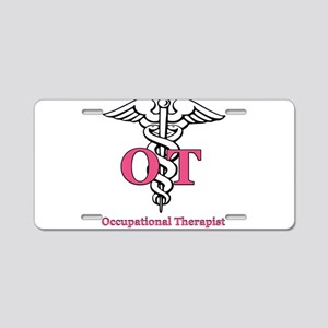 Occupational Therapist Aluminum License Plate