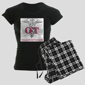 Occupational Therapist Women's Dark Pajamas