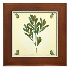 Branch Framed Tile