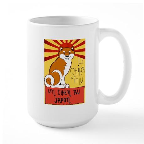 Le Shiba Large Mug