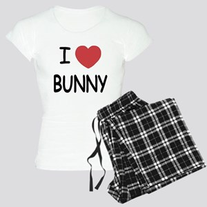 I heart bunny Women's Light Pajamas