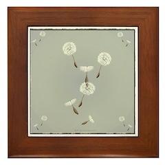 Seeds Framed Tile