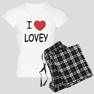 I heart lovey Women's Light Pajamas