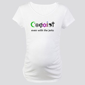Co-Exist Section Maternity T-Shirt